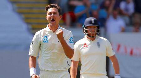 England all out for 58 as Trent Boult, Tim Southee run riot on Day 1 of first Test