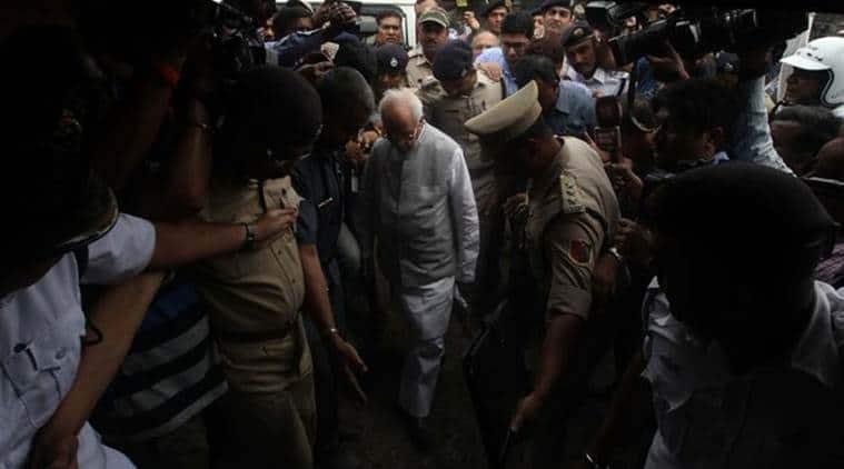 Asansol, violence-hit Asansol, West Bengal governor, Keshari Nath Tripathi, Keshari Nath Tripathi Visits Asansol, India News, Indian Express News
