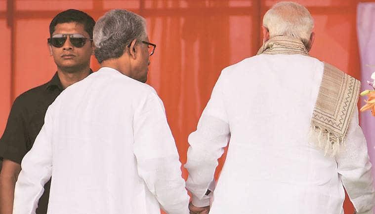 Tripura, Biplab Kumar Deb, Narendra Modi, Bharatiya Janata Party, Tripura CM, Tripura cM swearing-in, tripura assembly elections,  modi in tripura, manik sarkar,