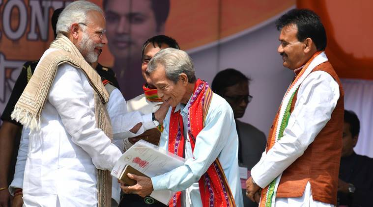 Tripura govt for those who voted, those who didn't: PM Modi