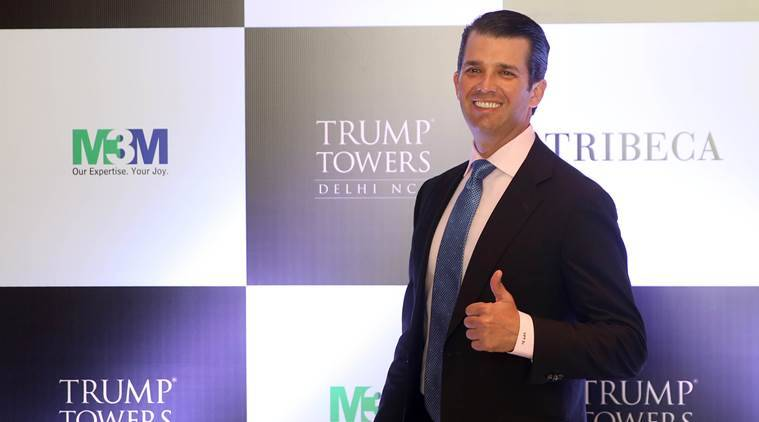 donald trump jr, permit to hunt Alaska grizzly bear, canada, world news, indian express