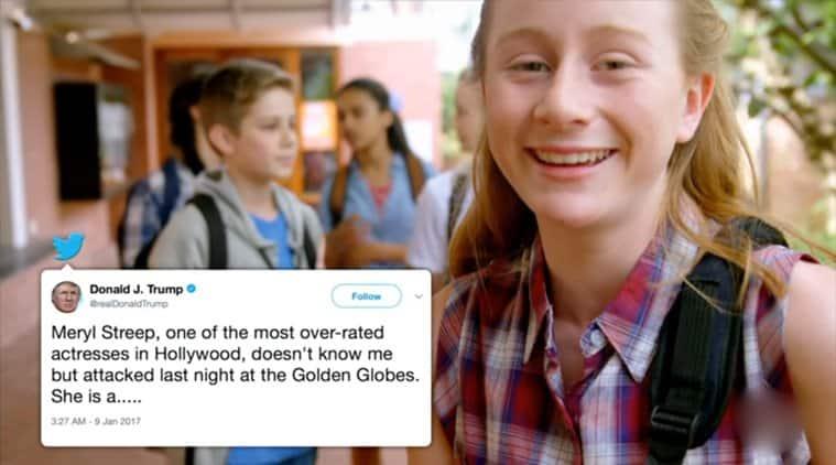 Jimmy Kimmel Melania Trump cyber bullying video, Melania Trump fight against cyber bullying, Jimmy Kimmel edits Melania Trump video, viral video, indian express, indian express news