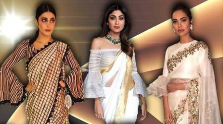 Go for trumpet sleeve blouse to add some oomph to your traditional look: Esha Gupta, Shilpa Shetty, Shruti Haasan show ushow