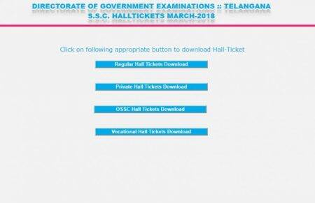 TS SSC 10th hall tickets 2018 out, download at bse.telangana.gov.in
