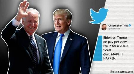 After Donald Trump and Joe Biden's violent threats, Twitterati bid for a WWE match