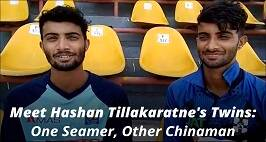 Meet Hashan Tillakaratne's Twin Sons Who Confuse Players Including Virat Kohli