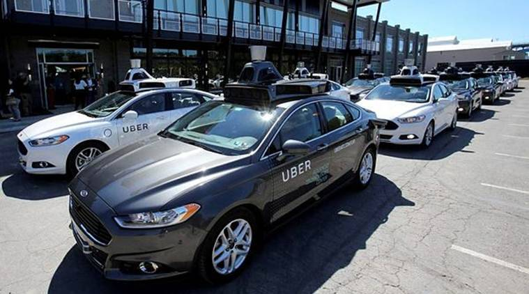 uber, automatic uber vehicle, driverless car accident, uber accident victim, indian express