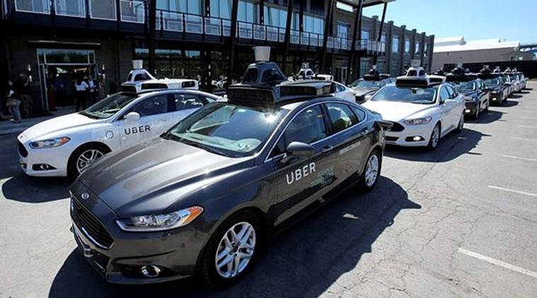Uber driverless car crash, autonomous vehicles, auto parts suppliers, self-driving technology, Intel's Mobileye, Volvo SUVs, driver assistance system, Uber safety features