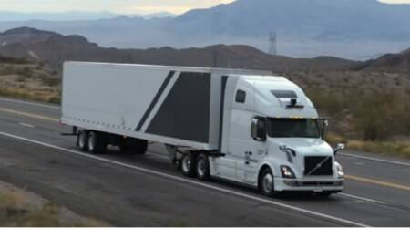 Uber's self-driving trucks haul cargo on Arizona highways