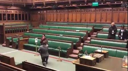 WATCH: UK man proposes girlfriend in the House of Commons; video goes viral
