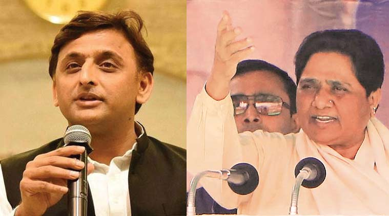 Akhilesh meets Mayawati after Samajwadi Party's victory in bypolls