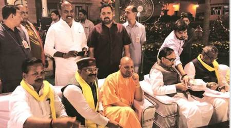 Elections to Rajya Sabha on Friday: With dinner, trial vote, parties court theirflock