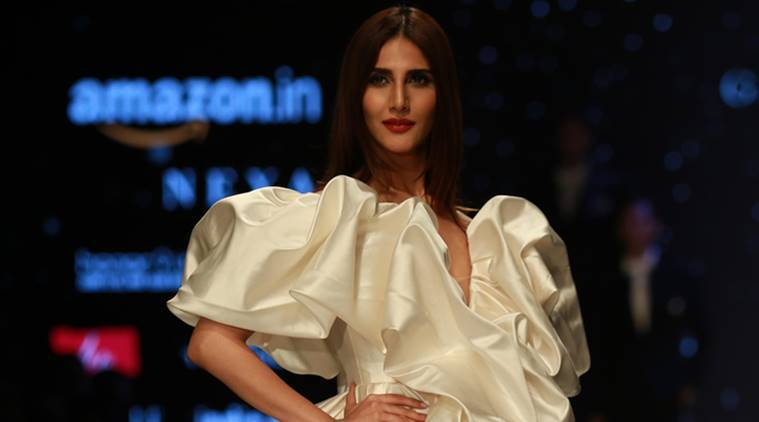 Image result for Amazon India Fashion Week vani kapoor