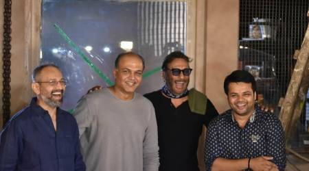 Ashutosh Gowariker gives the first clap for Jackie Shroff's Gujarati debut Ventilator