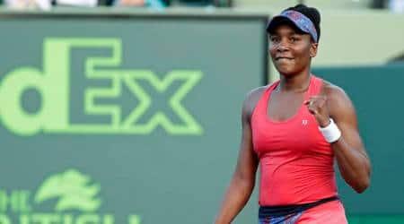 Venus Williams after the win against Johanna Konta in Miami