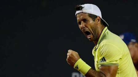 Fernando Verdasco upsets Grigor Dimitrov, Roger Federer debut marred by rain at Indian Wells