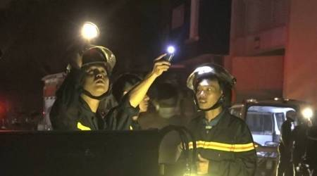 At least 13 killed in southern Vietnam condominium fire