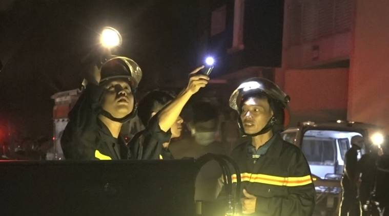 Fire at condominium in southern Vietnam kills at least 13