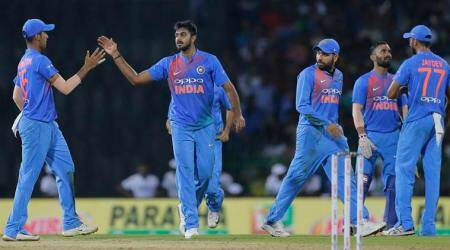 I keep thinking what would have happened if Dinesh Karthik hadn't hit that six, says Vijay Shankar