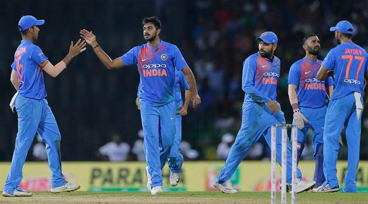 india vs bangladesh, vijay shankar, dinesh karthik, nidahas Trophy, ind vs ban, india vs bangladesh t20i, cricket news, sports news, indian express