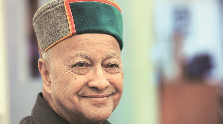 Former chief minister Virbhadra Singh.