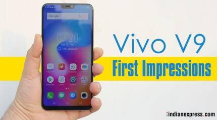 Vivo V9 first impressions: This iPhone X lookalike is a lot cheaper at Rs 22,990