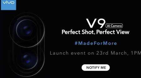Vivo V9 listed on Amazon India ahead of March 23 launch: Reveals iPhone X-like design