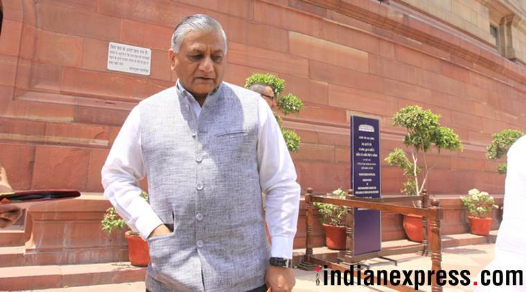 Muslims who want Jinnah's portrait in AMU insulting to their ancestors: VK Singh