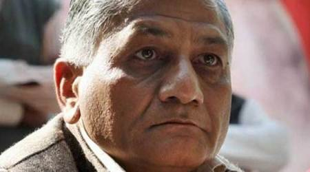 Waiting for Iraq's nod to bring back mortal remains: MoS V K Singh