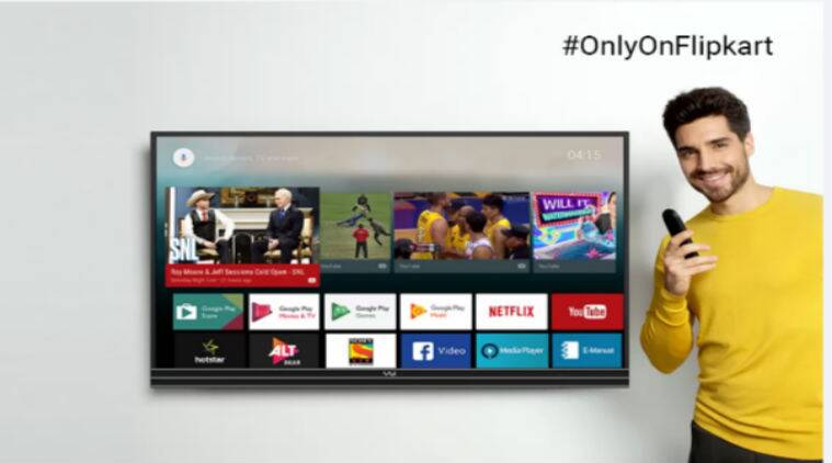 Flipkart National Shopping Days sale, Amazon Freedom sale, TVs, Smart TVs, 4K TVs, Flipkart TVs, Amazon TVs