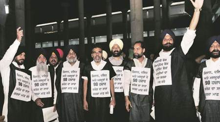 Punjab Assembly session: SAD-BJP force adjournment,  AAP, LIP stagewalkout