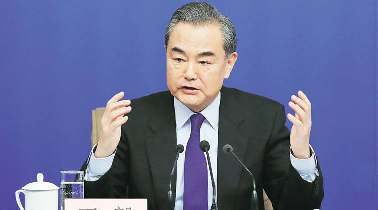 Image result for Chinese State Councillor Wang Yi