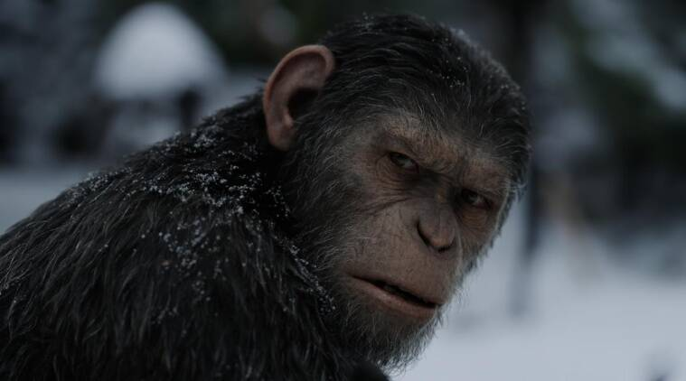 War for the Planet of the Apes is nominated at the Oscars for Best Visual Effects