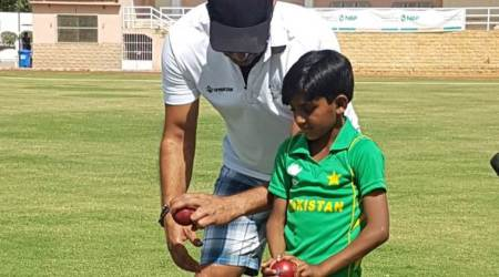 Wasim Akram coaches Pakistani kid with similar action, see pic