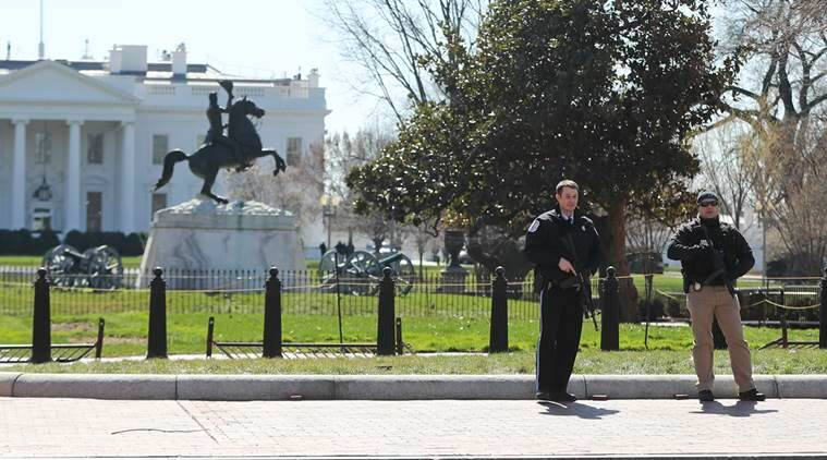 White House on lock down