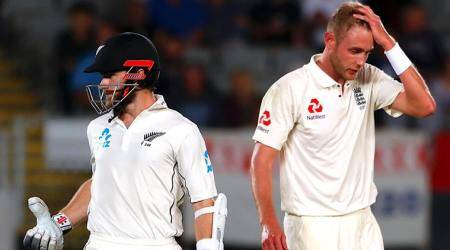Live Cricket Score, New Zealand vs England 1st Test Day 2 Live Streaming: Rain interrupts play after Kane Williamson scores record-breaking century