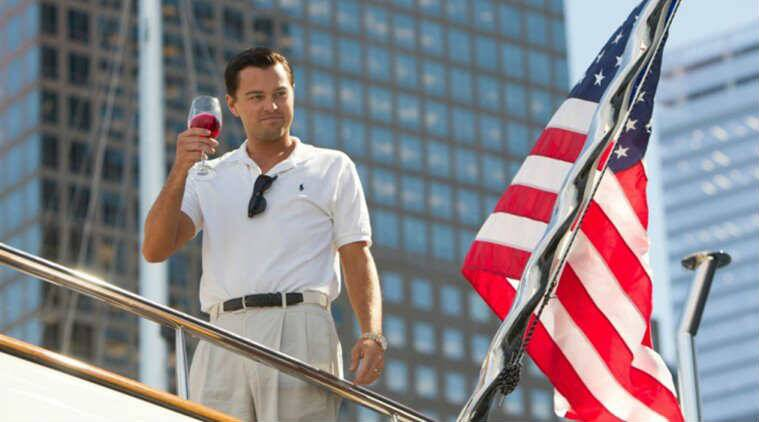 The wolf of wall street starred leonardo di caprio