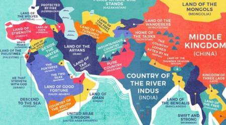 India (Country of River Indus), Pakistan (Pure Country): What does each country name mean?