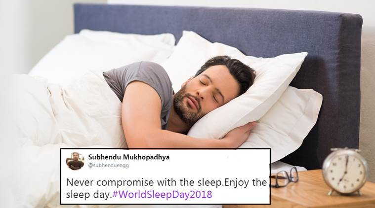 World Sleep Day, World Sleep Day 2018, benefits of sound sleep, benefits of sleeping, how to fall asleep, how to sleep early, health benefits of sleep, world sleep day twitter reactions, indian express, indian express news
