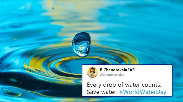 world water day, world water day tweets, benefits of drinking water, water on empty stomach, metabolism, digetsive system, remove toxins, bowel disease, skincare, gastritis, weight loss, migraine attacks, indian express, indian express news
