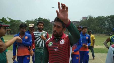 Wriddhiman Saha warms up for IPL in style with 20-ballton