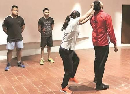 Chandigarh: Kick, punch and throw: Self-defence classes in wushu for girls at PU