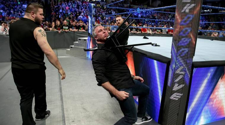 WWE Smackdown saw Sami Zayn, Kevin Owens and Shane McMahon in action.