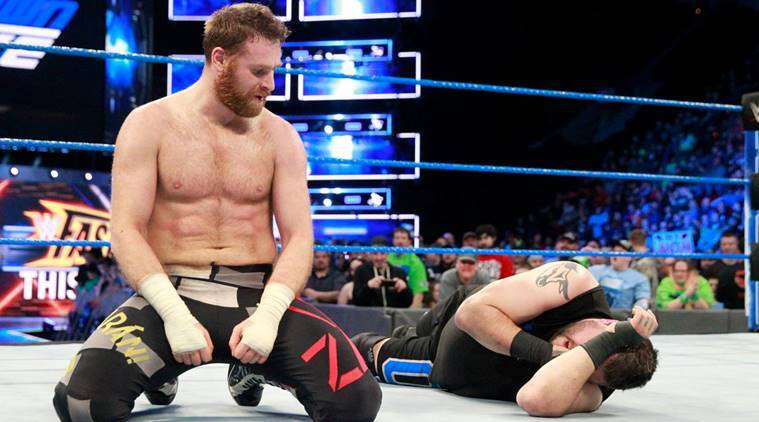 WWE Smackdown Live results Sami Zayn beats Kevin Owens