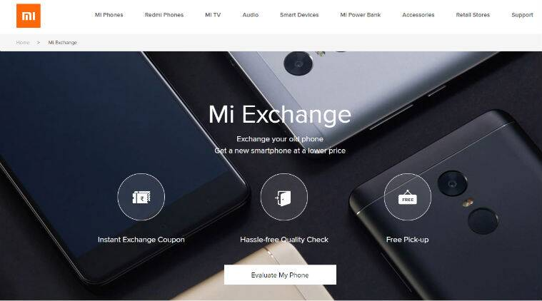 Xiaomi Mi Exchange offer, Mi exchange offer program India, Xiaomi Mi Exchange offer how to use, Mi Exchange how it works, how to exchange old phone Xiaomi, Redmi Note 5