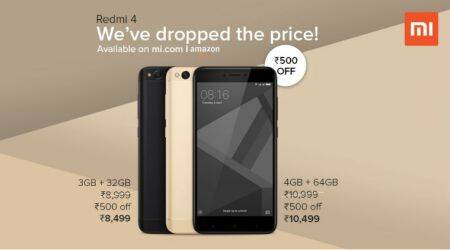 Xiaomi Redmi Note 4 price in India slashed by Rs 500: All you need to know