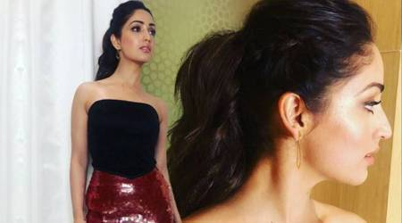 Yami Gautam works the glamorous 'red and black combo' like a pro