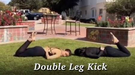 WATCH: Yasmin Karachiwala's 'Double Leg Kick' will definitely inspire you to take up pilates