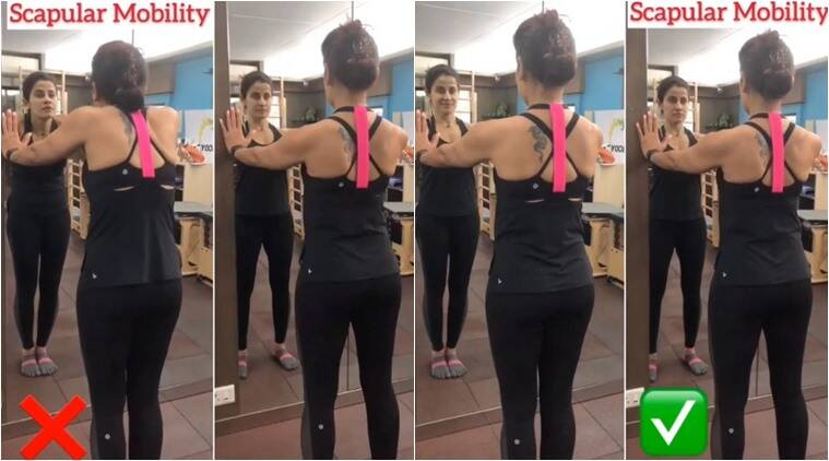scapular mobility, scapular mobility correct workout, scapular mobility pilates, scapular mobility Yasmin Karachiwala, Yasmin Karachiwala pilates, effective workout, correct posture