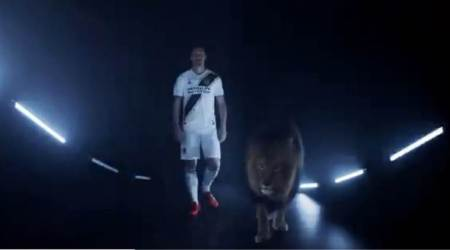 Ibrahimovic announced as Los Angeles Galaxy player in typical Zlatan fashion